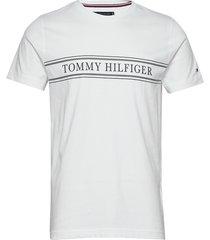 rope stripe tee t-shirts short-sleeved vit tommy hilfiger