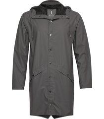 long jacket regnkläder grå rains