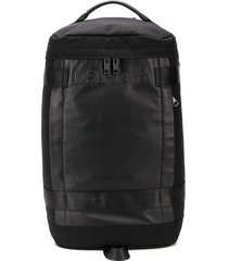 diesel cylindrical backpack - black
