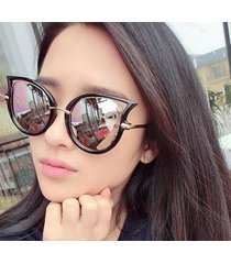 curvy cat eye sunglasses