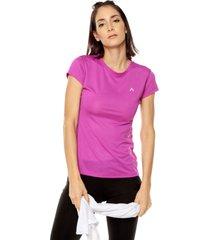 camiseta violeta bronzini active