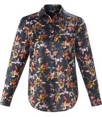 blouse lange mouwen van emilia lay zwart