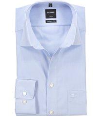 shirt olymp luxor modern fit bleu mouwlengte 7