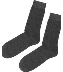 calzedonia short warm cotton socks man grey size 44-45