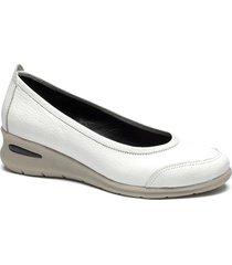 zapato blanco albany