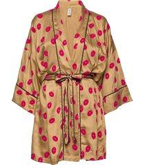 lola kimono morgonrock beige underprotection