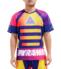 black pyramid graded speed logo graphic t-shirt