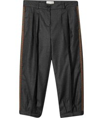 gucci gray trousers