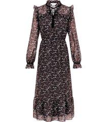 klänning pcnil ls midi dress
