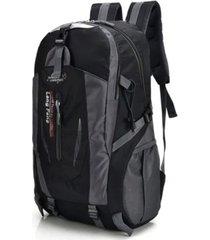 mochila maleta viaje hombre impermeable antifluido 301 negro