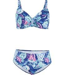 bikini minimizer con ferretto (set 2 pezzi) (blu) - bpc bonprix collection