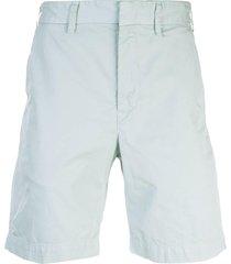save khaki united twill bermuda shorts - blue