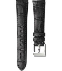 cinturino per orologio 14mm, marrone scuro, acciaio inossidabile