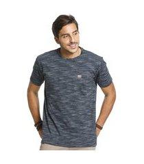camiseta vlcs trends gola careca azul