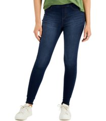 style & co dark wash jeggings, created for macy's