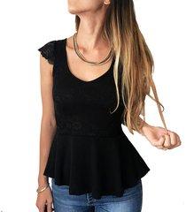blusa negra florencia casarsa alice