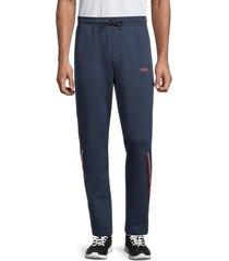 boss hugo boss men's halko track pants - navy - size xxl