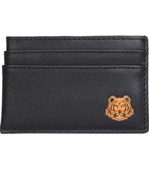 kenzo tiger crest card holder