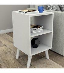 mesa de canto 2 nichos branco mes2100 - appunto