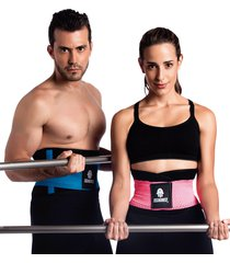 tecnomed body shaper fitness belt - back supporter