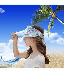 sombrero para mujer, femenino marea verano gran sol-verde