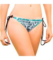 tanga - vestido de baño bikini world - estampado