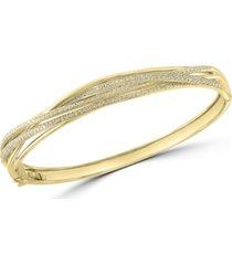 effy diamond bangle bracelet (1-1/20 ct. t.w.) in 14k gold