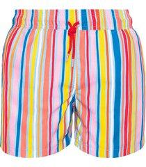 pantaloneta multicolor lines