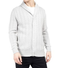 cardigan brave soul gris - calce regular