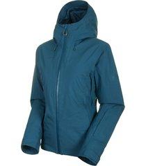 chaqueta casanna thermo hs hooded azul mammut