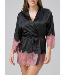 pyjama's / nachthemden luna kimono cabaret