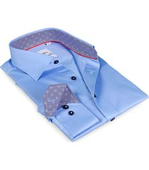 levinas men's finollo contemporary-fit dress shirt - light blue - size 19