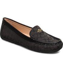 marley driver - signature c jacquard loafers låga skor svart coach