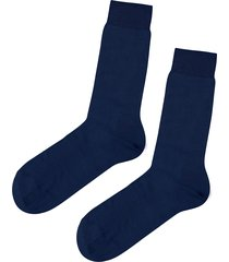 calzedonia - short egyptian cotton socks, 40-41, blue, men