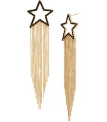 jessica simpson celestial star fringe earrings