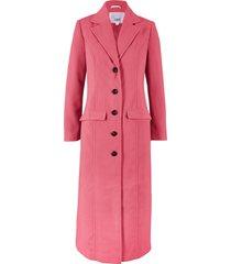 cappotto lungo in simil lana (fucsia) - bpc bonprix collection