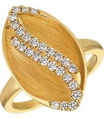 14k honey gold™ & vanilla diamond® ring
