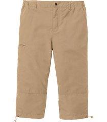 pantalone 3/4 in microfibra con vita elasticizzata ai lati. (beige) - bpc bonprix collection