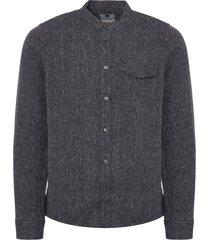 nn07 navy blue stockholm shirt 5022
