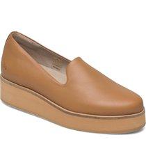 242g almond leather loafers låga skor brun gram