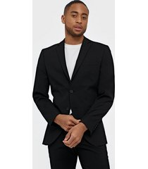 selected homme slhslim-mylologan black blazer b no kavajer & kostymer svart