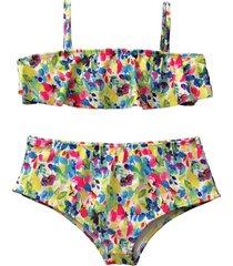 bikini amarilla brillantina azucena