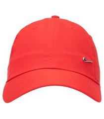 boné masculino h86 metal swoosh cap - vermelho