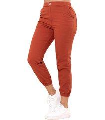 pantalon jogger café ragged pf11310630