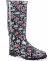 botas de lluvia laurina negro para mujer croydon