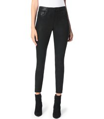 women's joe's the charlie coated ankle skinny jeans, size 34