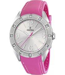 reloj boyfriend collection rosa festina