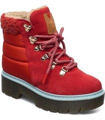 ferde shoes sport shoes outdoor/hiking shoes röd kari traa