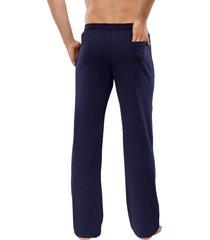 schiesser pyjamabroek jersey blauw