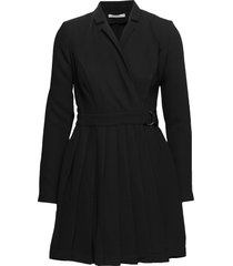 altas dress knälång klänning svart guess jeans